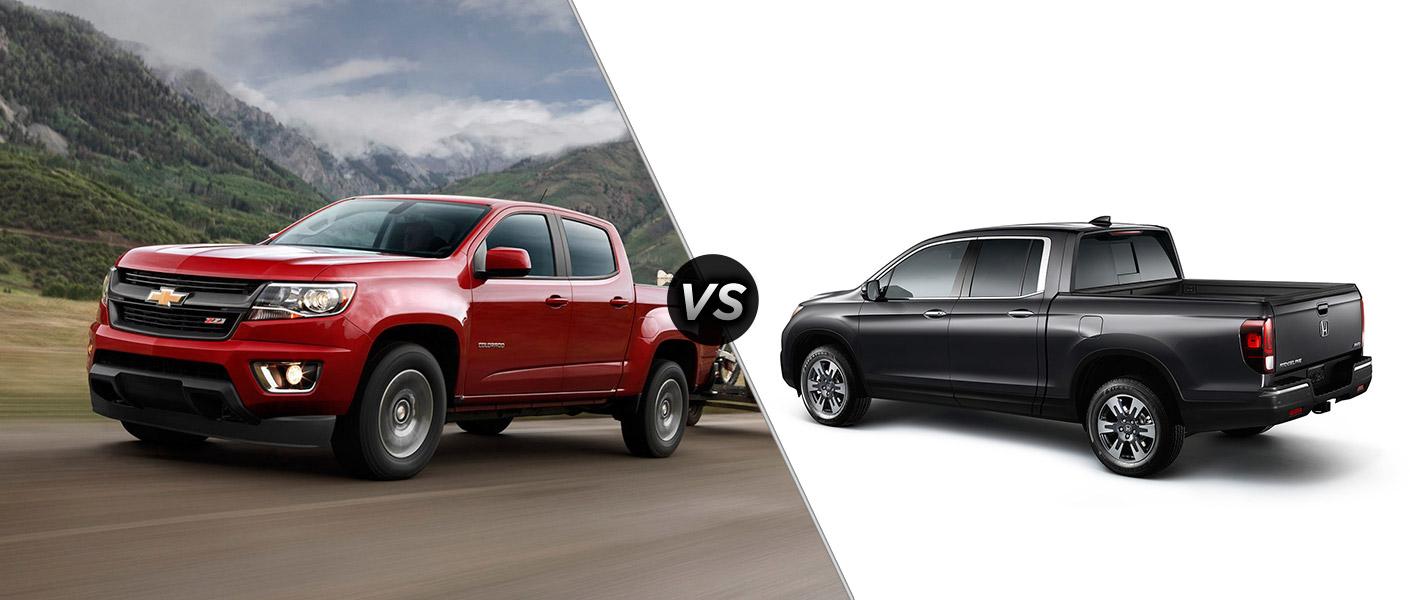 2016 chevy colorado vs 2017 honda ridgeline for Colorado honda dealers