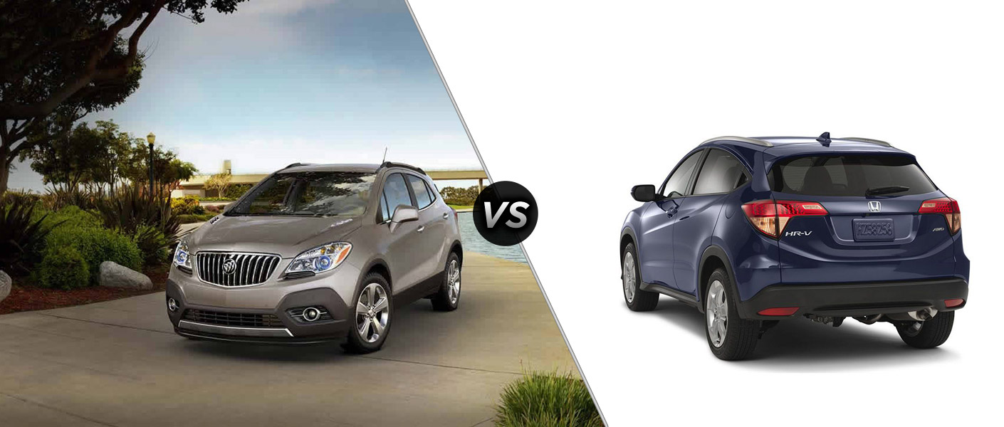 2015 buick encore vs 2016 honda hr v for Buick encore vs honda hrv