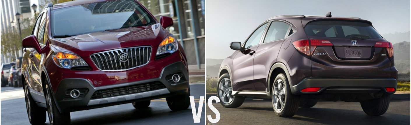 2016 buick encore vs 2016 honda hr v