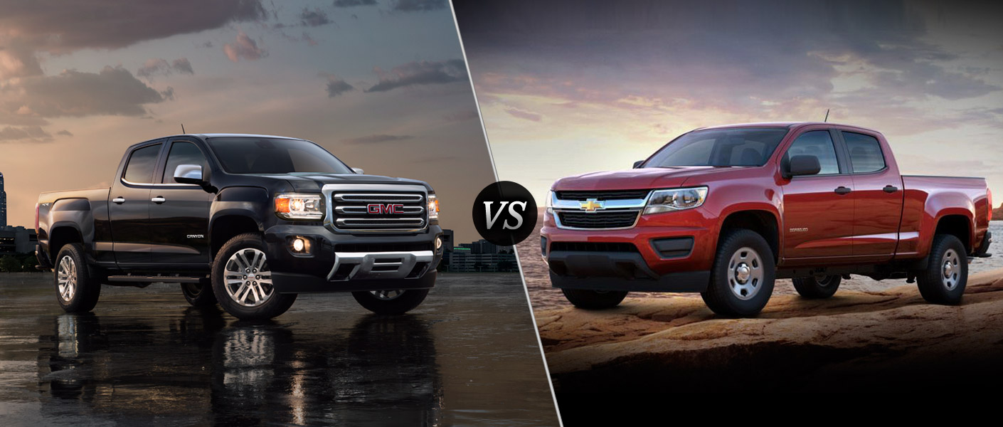 Chevy Colorado Vs Gmc Canyon - Gmc Canyon Vs  Chevy Colorado