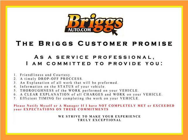 The Briggs Promise