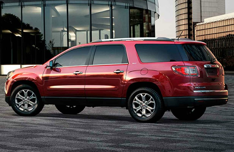 Gmc Acadia And Chevy Traverse parison
