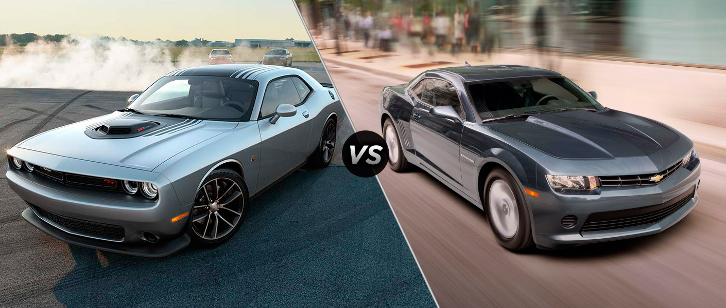 Home 2015 dodge challenger vs 2015 chevrolet camaro
