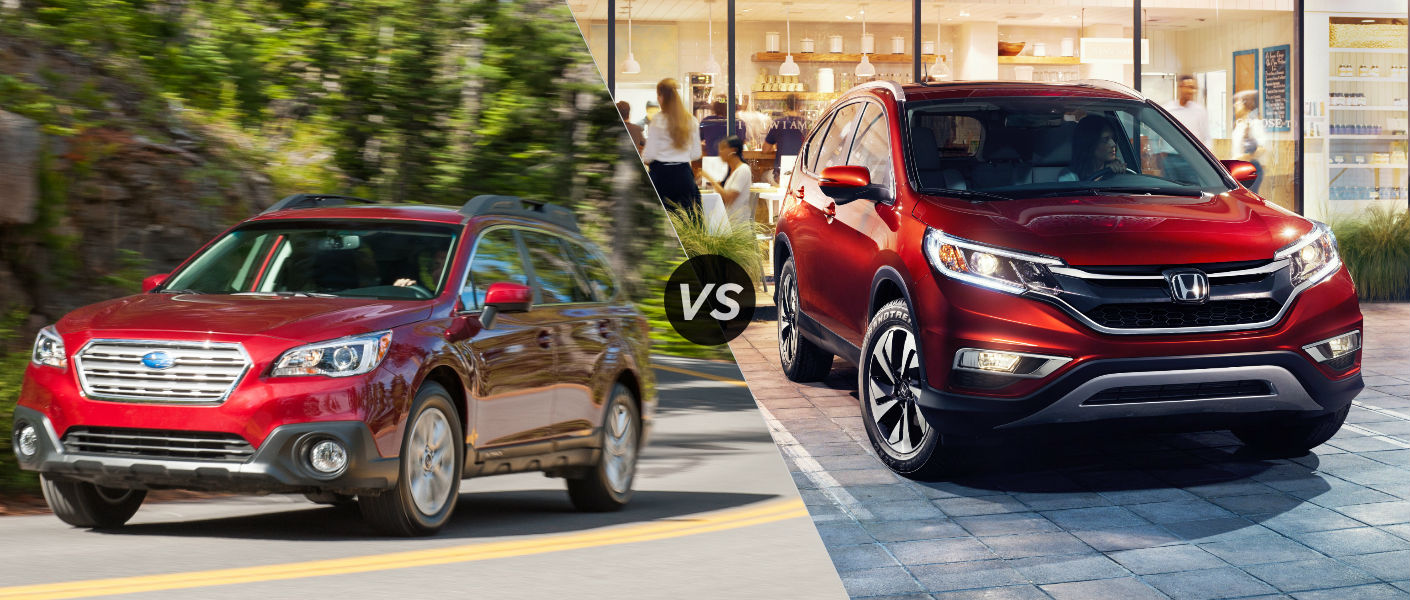 Honda cr v versus subaru outback for Honda crv vs subaru forester
