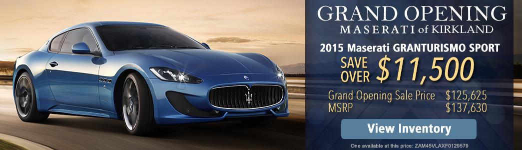 Maserati oil change cost