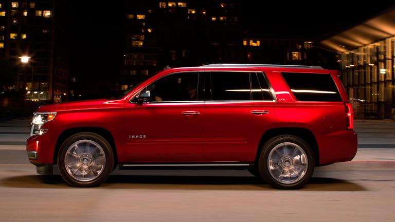 2015 Chevy Tahoe vs. 2015 Nissan Armada
