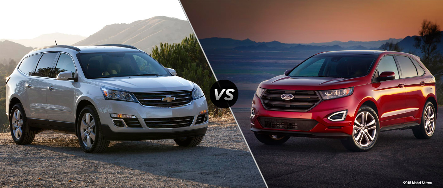 2016 chevy traverse vs 2016 ford edge. Black Bedroom Furniture Sets. Home Design Ideas