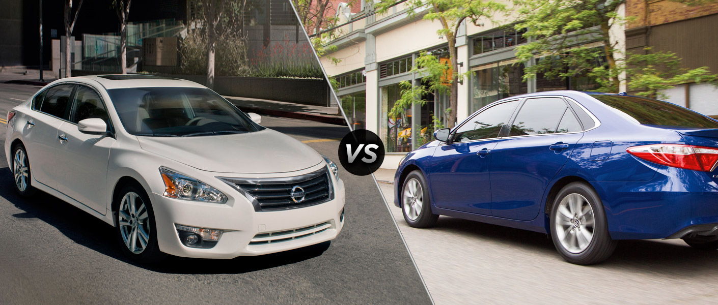 2015 nissan altima vs 2015 toyota camry. Black Bedroom Furniture Sets. Home Design Ideas