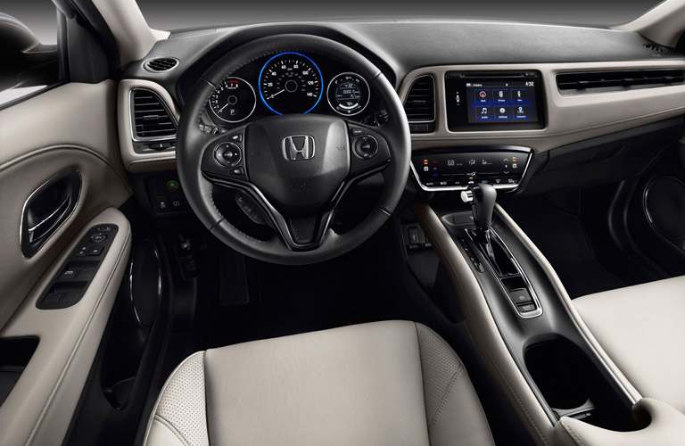 2016 honda hr v interior for Nissan juke vs honda hrv