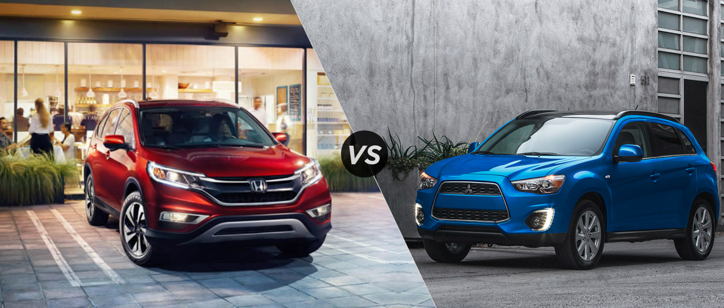 2015 honda crv vs 2015 mitsubishi outlander sport. Black Bedroom Furniture Sets. Home Design Ideas