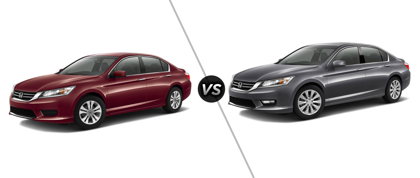2015 honda accord lx vs ex