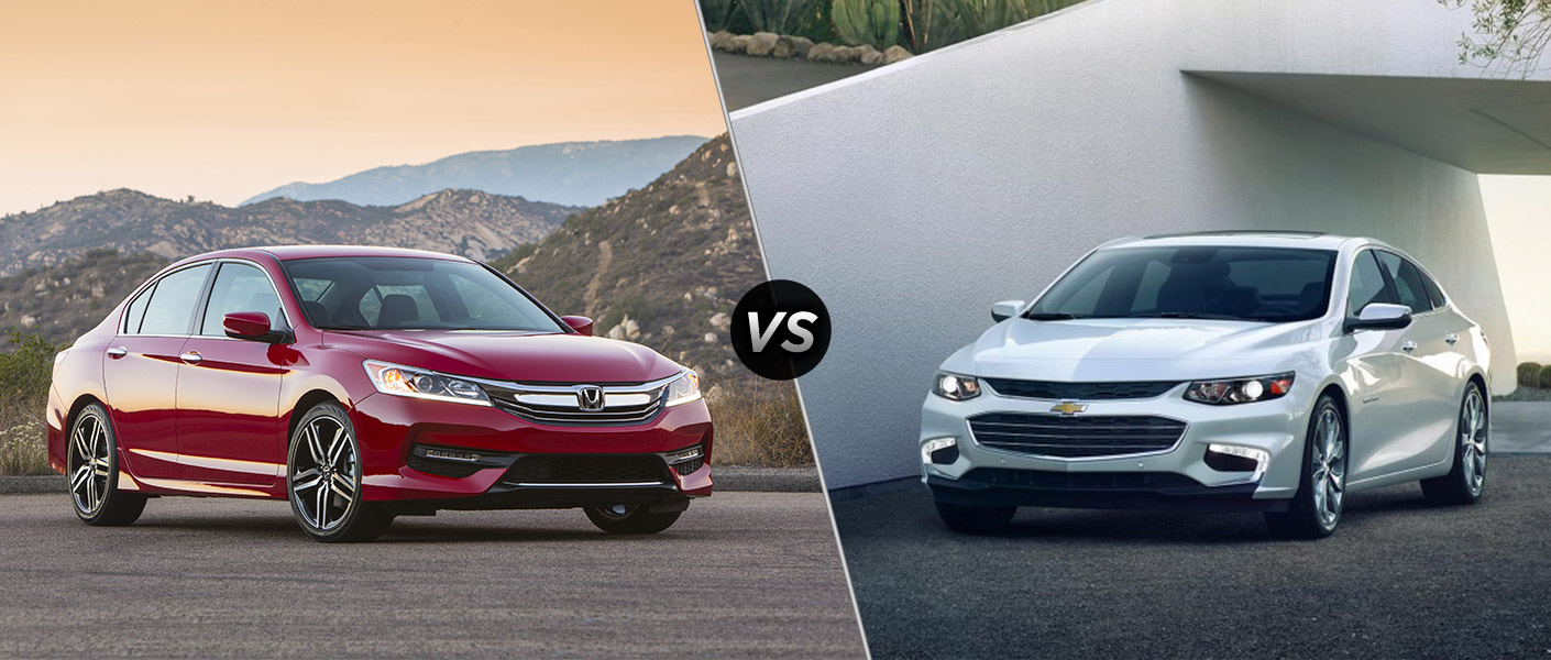 2016 honda accord vs 2016 chevy malibu