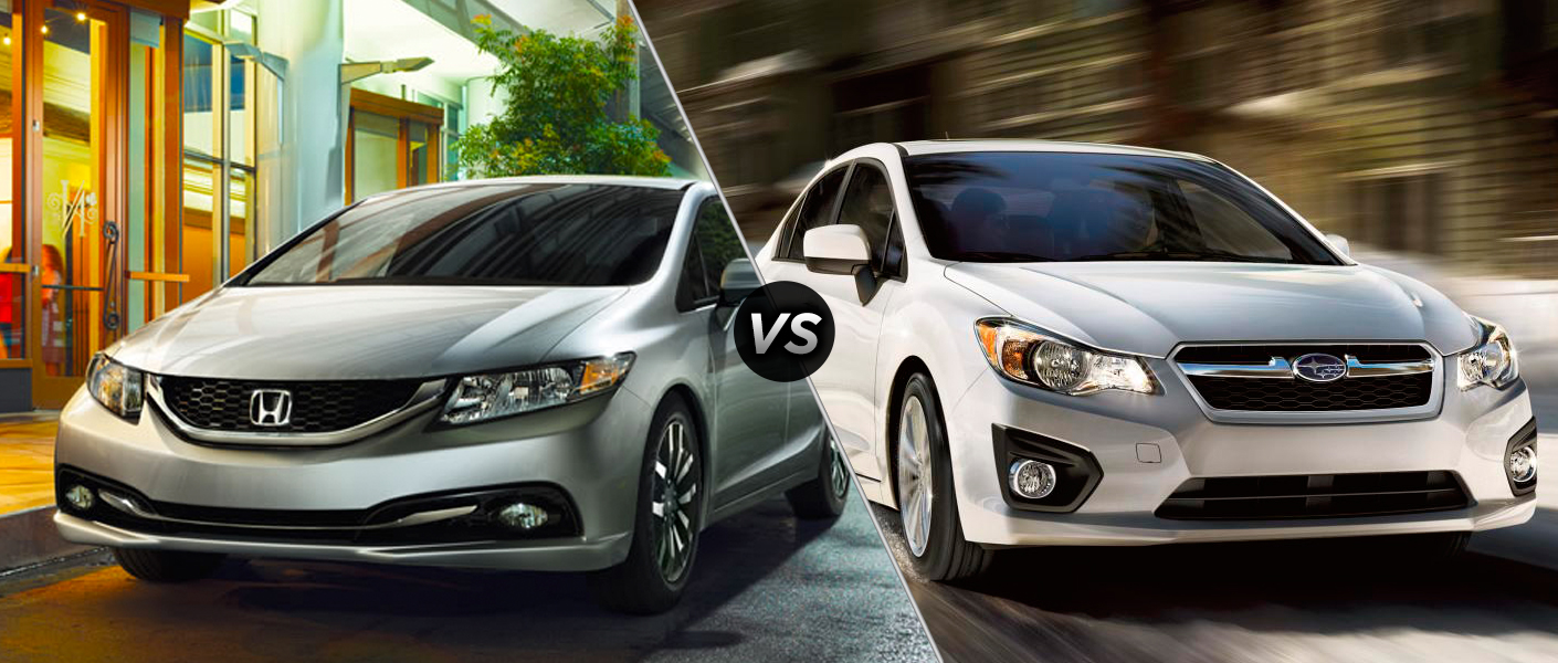 Home Research 2014 Honda Civic vs 2014 Subaru Impreza