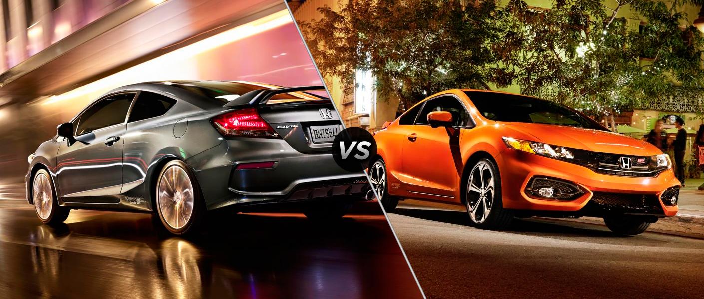 Honda Civic LX vs. Honda Civic EX