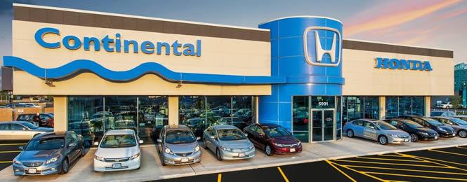 Continental Honda Storefront