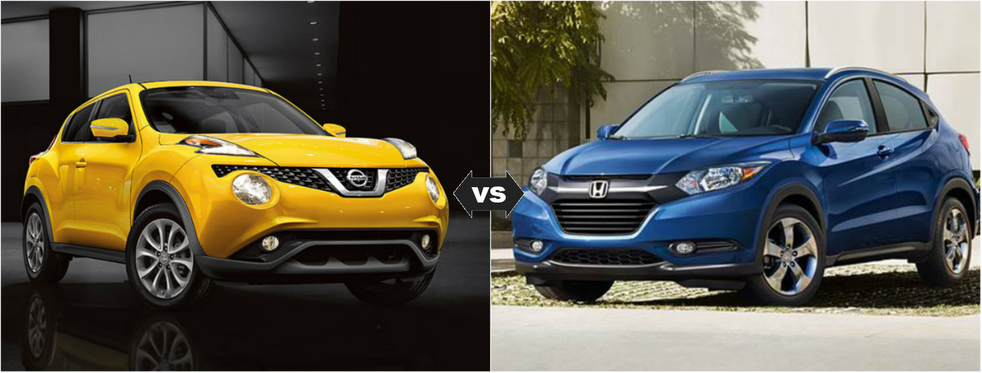 Cx 3 Vs Hrv >> Honda Hrv Vs Nissan Juke | Autos Post