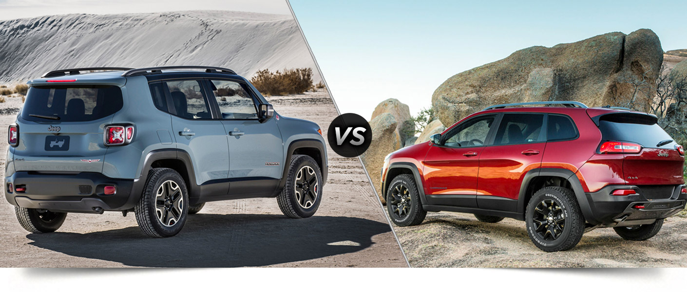 2015 jeep renegade vs 2015 jeep cherokee. Black Bedroom Furniture Sets. Home Design Ideas