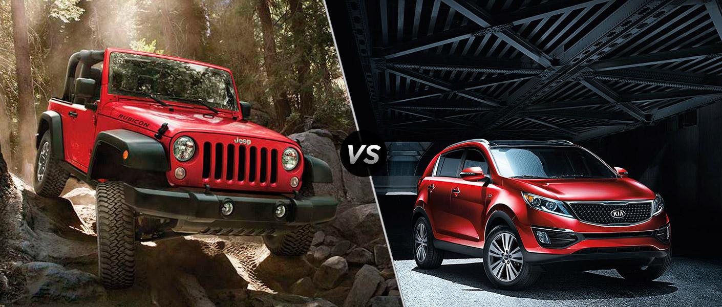2015 Jeep Wrangler Vs 2015 Hyundai Tucson