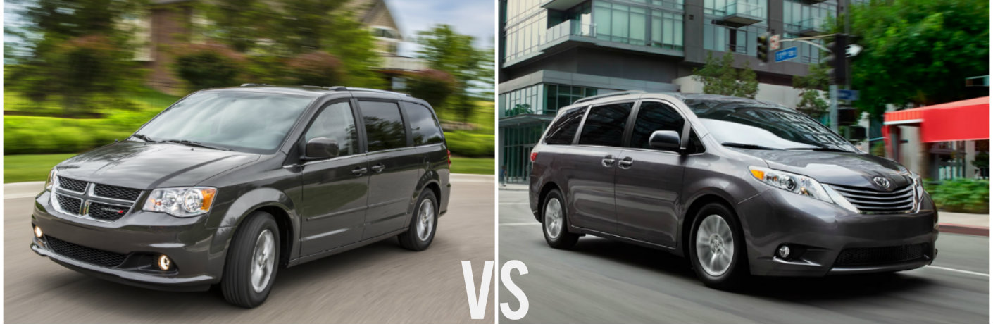 2016 dodge grand caravan vs 2016 toyota sienna. Black Bedroom Furniture Sets. Home Design Ideas