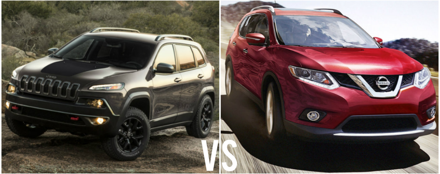 2016 jeep cherokee vs 2016 nissan rogue. Black Bedroom Furniture Sets. Home Design Ideas