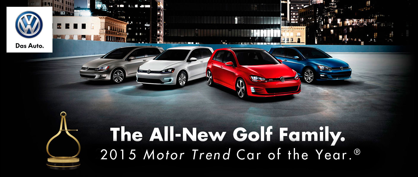 Golf Car Logo 2015 vw Golf Car of The Year
