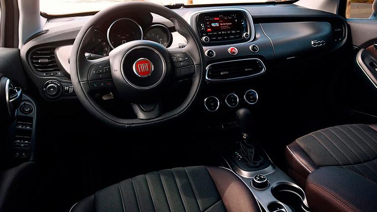 2016 fiat 500x vs 2015 mini cooper countryman for 500x interior