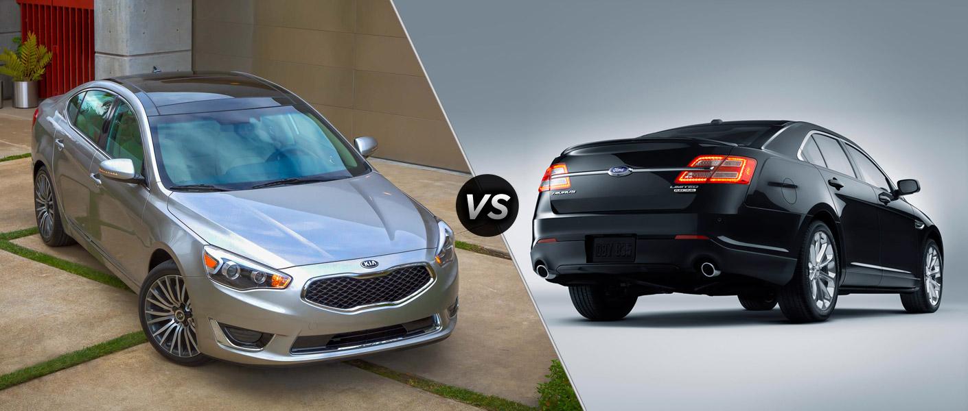 2014 Kia Cadenza vs 2014 Ford Taurus