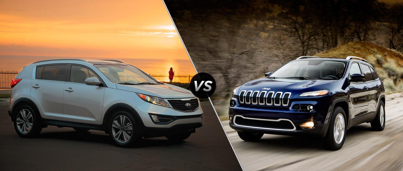2014 Kia Sportage vs 2014 Jeep Cherokee