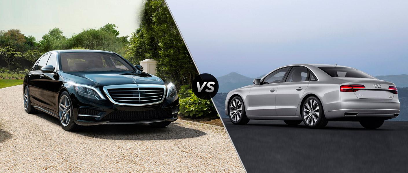 2014 Mercedes-Benz S-Class vs Audi A8