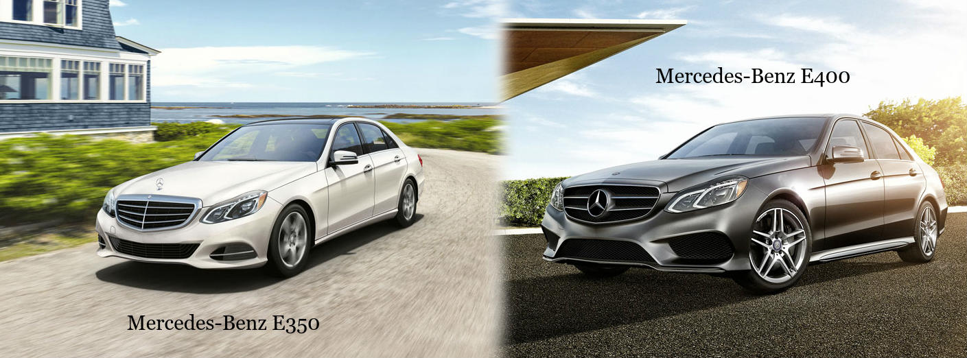 2016 mercedes benz e350 vs e400 for Mercedes benz financial payment address