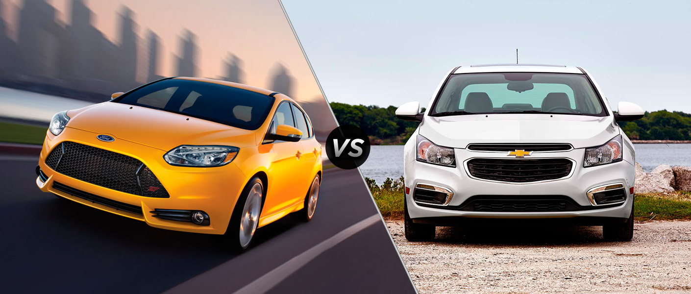 2014 Ford Focus vs. 2014 Chevy Cruze