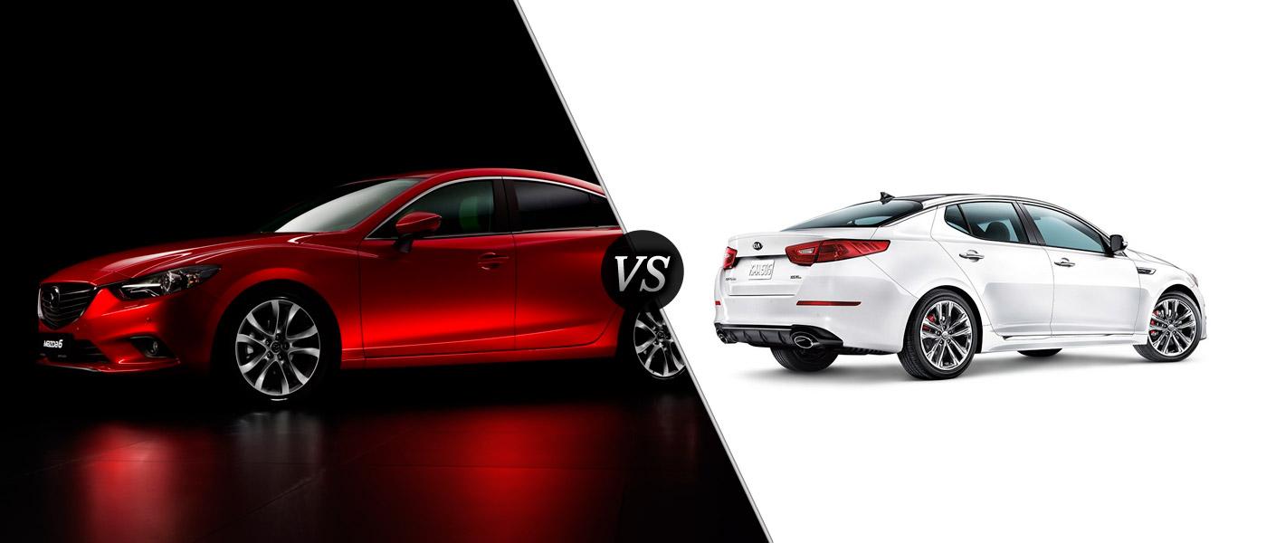 2015 Mazda 6 Vs 2015 Kia Optima
