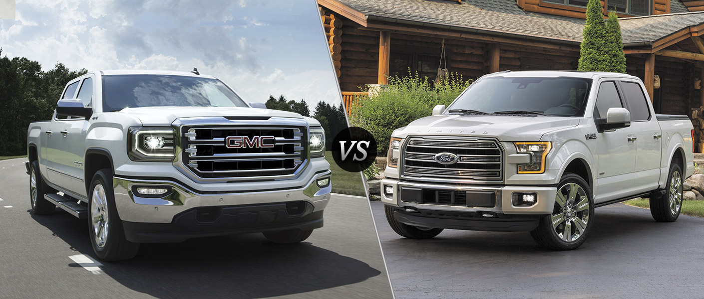 2016 GMC Sierra vs 2016 Ford F-150