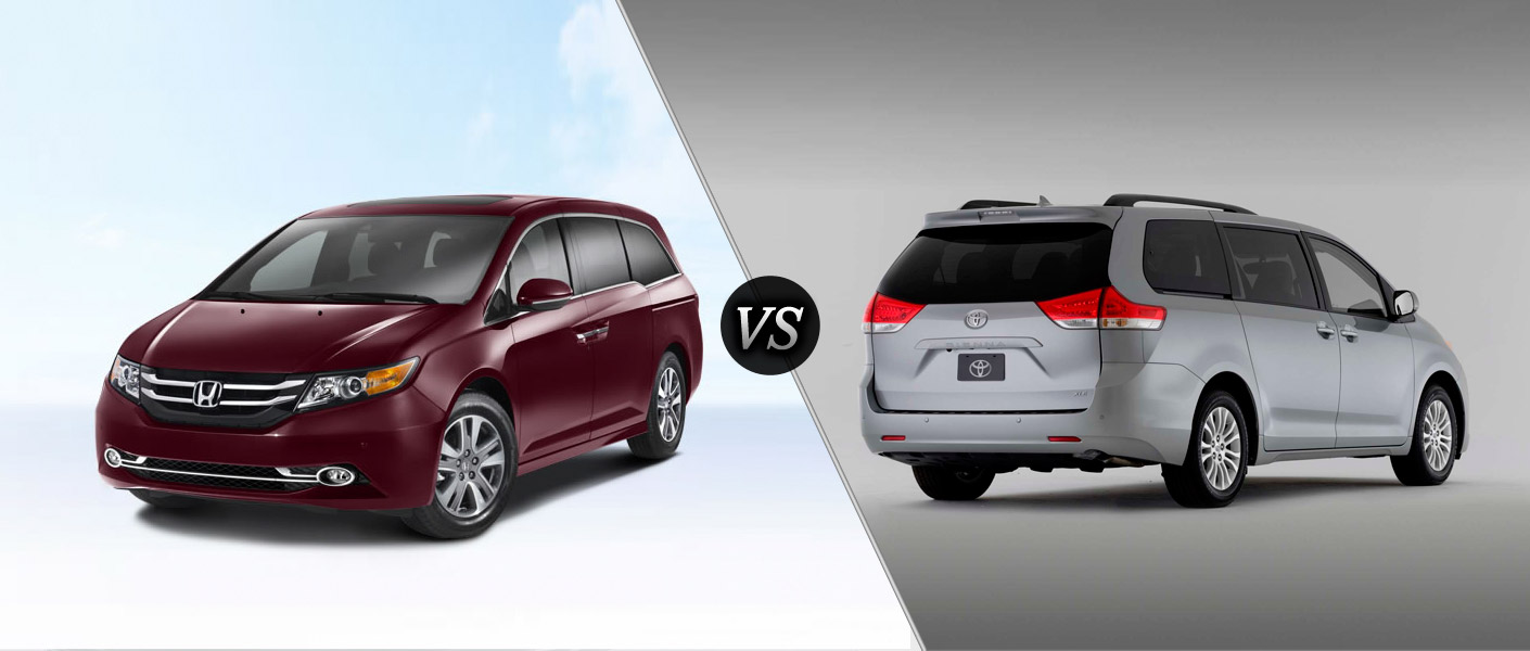 2014 toyota sienna vs 2014 honda autos weblog. Black Bedroom Furniture Sets. Home Design Ideas