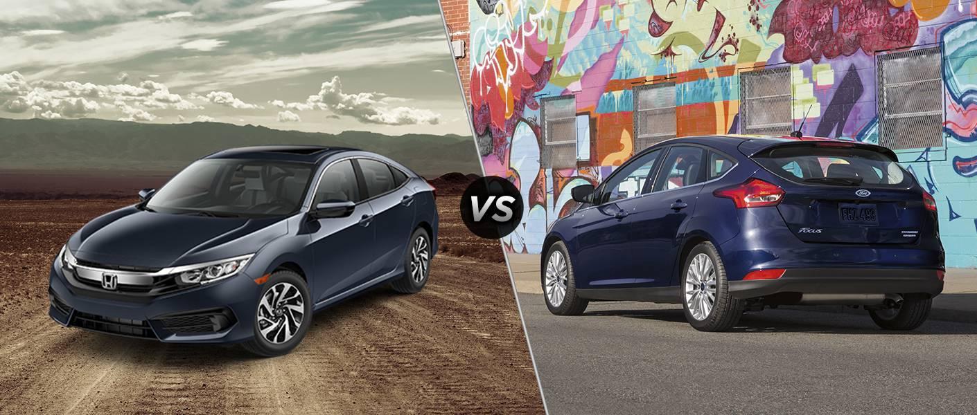 Ford vs honda civic for Honda civic dealer