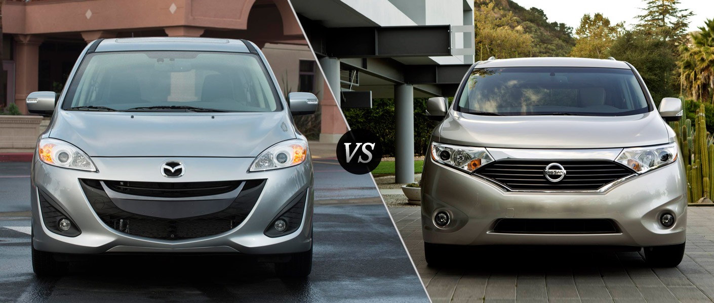 2013 Mazda5 vs 2013 Nissan Quest