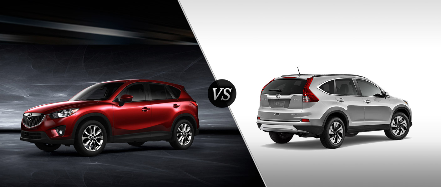 2015 mazda cx 5 vs 2015 honda cr v