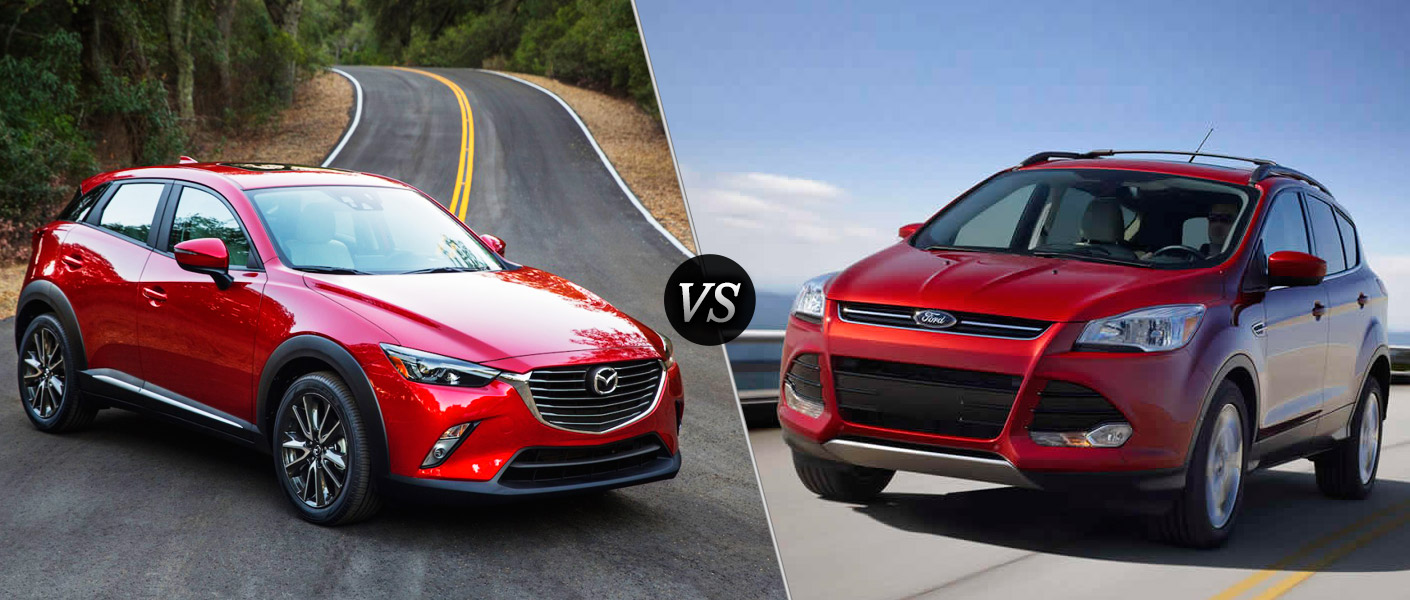 2016 mazda cx 3 vs 2016 ford escape comparison. Black Bedroom Furniture Sets. Home Design Ideas