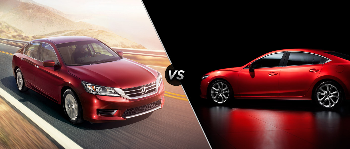 mazda 6 vs honda accord autos weblog