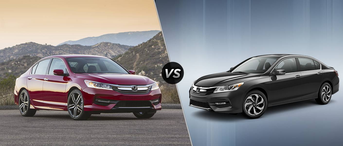 2016 honda accord sport vs ex