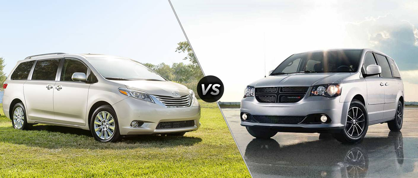2016 toyota sienna vs 2016 dodge grand caravan. Black Bedroom Furniture Sets. Home Design Ideas
