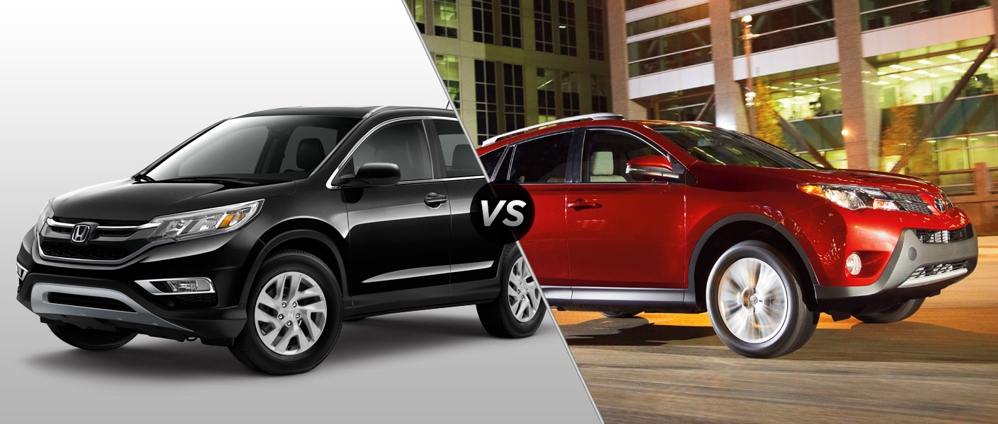 2015 honda cr v vs 2015 toyota rav4 for Honda rav 4