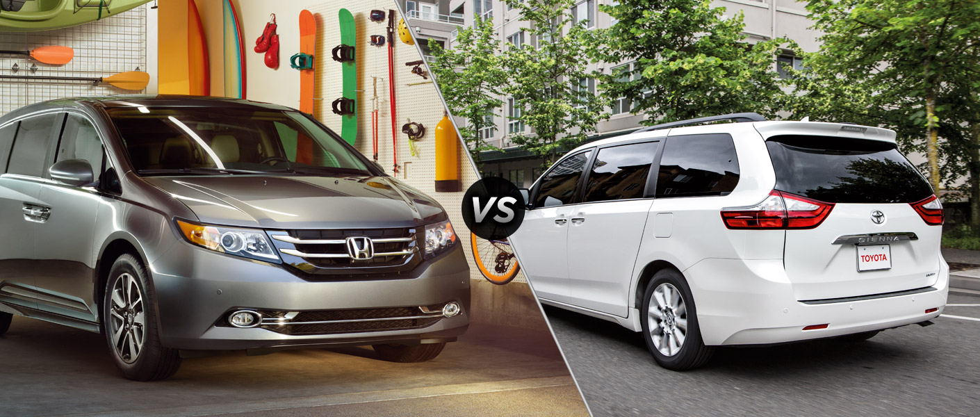 2015 honda odyssey vs 2015 toyota sienna. Black Bedroom Furniture Sets. Home Design Ideas