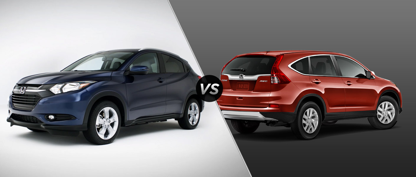 2016 honda hr v vs 2015 honda cr v