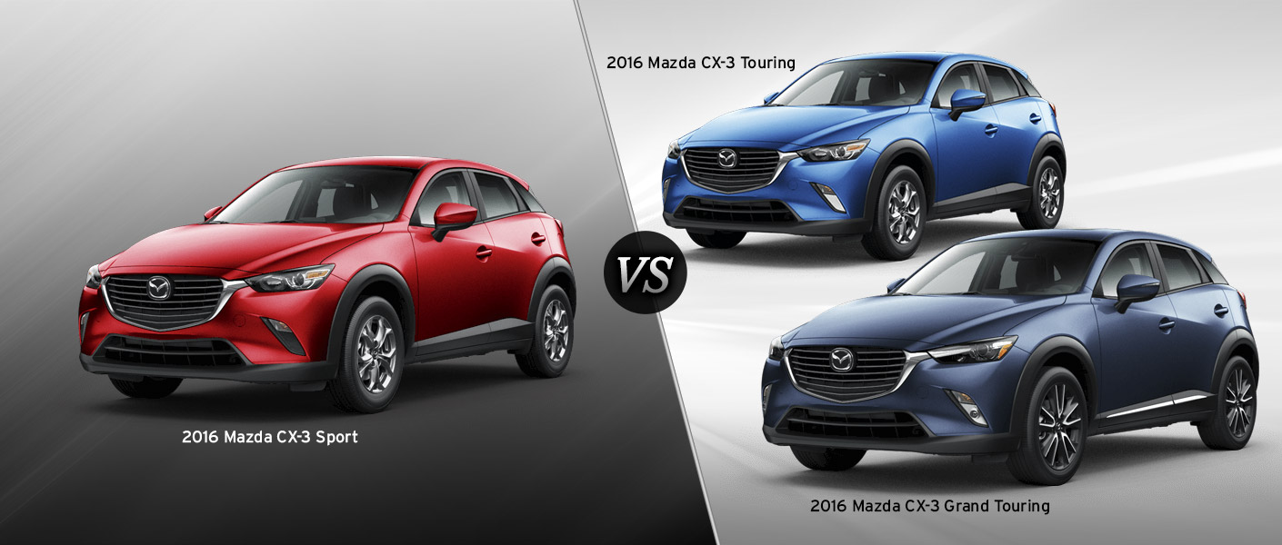 2016 mazda cx 3 trim comparison the 2016 mazda cx 3 stuffs in more. Black Bedroom Furniture Sets. Home Design Ideas