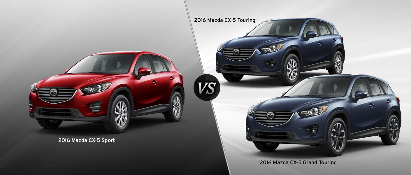 2016 mazda cx 5 trim comparison