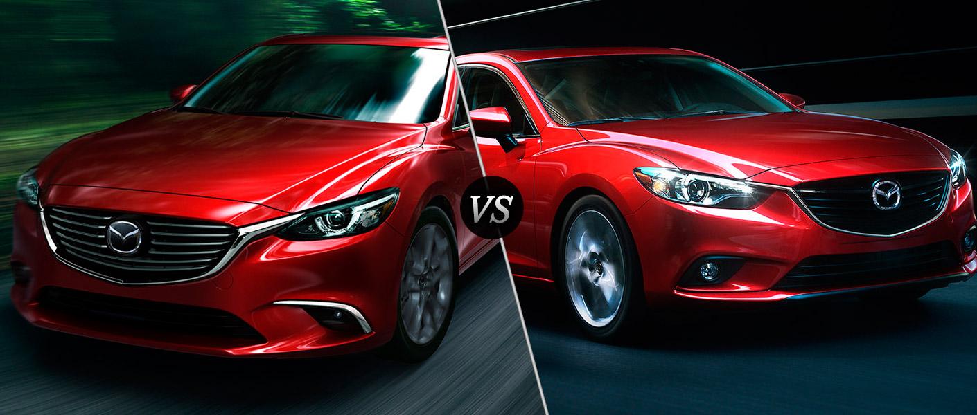 2016 Mazda6 vs 2015 Mazda6
