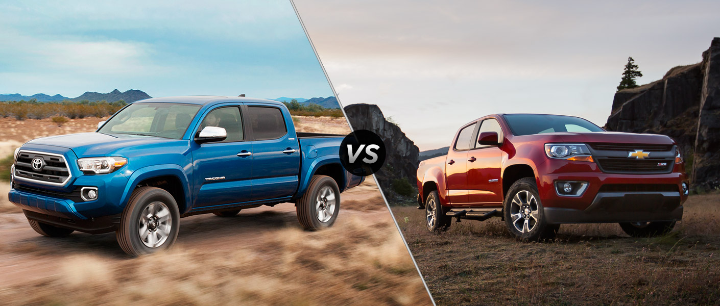 2015 Toyota Tacoma vs 2015 Chevy Colorado