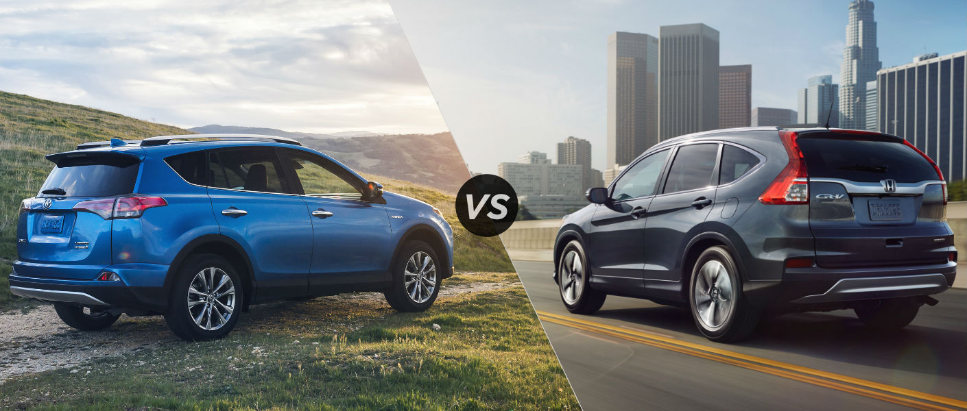 Ford escape vs toyota rav4 vs honda cr v autocross matchup for Honda crv vs toyota rav4 2014