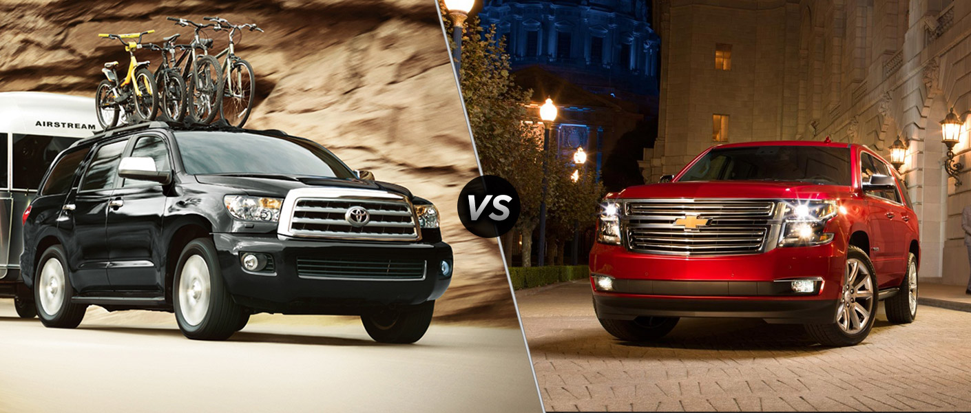 Chevy tahoe or toyota sequoia which is better autos post for Toyota sequoia vs honda pilot